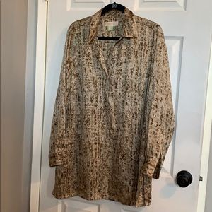 Michael Kors Pattern Tunic